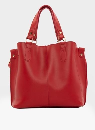 Bagmori Messenger / Askılı Çanta Kırmızı